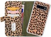 Mobilize 2in1 Gelly Wallet Zipper Case Samsung Galaxy S10 Olive/Leopard