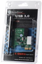 Silverstone EC01-P Intern USB 3.0 interfacekaart/-adapter