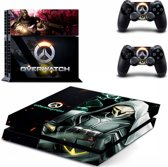 Overwatch - PlayStation 4 sticker - PS4 Reaper console skin bundel