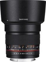 Samyang 85mm F1.4 AS IF UMC - Prime lens - geschikt voor Nikon Spiegelreflex