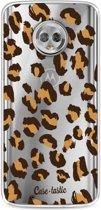 Casetastic Softcover Motorola Moto G6 - Leopard Print
