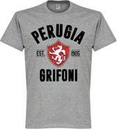 Perugia Established T-shirt - Grijs - S