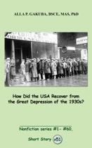 How Did the USA Recover from the Great Depression of the 1930s?