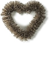Riviera Maison - Central Park Heart Wreath - gold - Krans