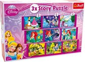 Small foot Puzzel prinses 3 in 1 30/40/60 stukjes