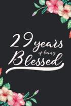 Blessed 29th Birthday Journal