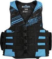JETPILOT Strike 50N Nylon Vest, JA5201, Maat XS, Blue