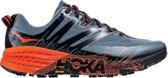 SpeedGoat 3 Sportschoenen - Maat 41 1/3 - Mannen - grijs/ rood/ zwart
