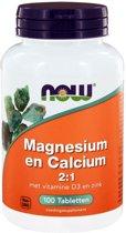NOW MAGNESIUM CALCIUM