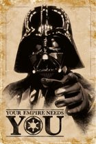Star Wars-Darth Vader-Empire Needs you-poster-61x91.5cm.