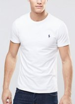 T-Shirt basic short sleeve XL white