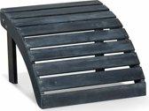 Lanterfant® Voetenbank Fred – Outdoor – Bijpassend bij Fred-stoel – Weathered Grey
