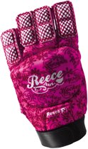 Reece Elite Fashion Glove Sr. - Veldhockeyhandschoen - Links - Maat M - Roze