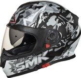 SMK Integraalhelm Twister Attack Grey-XL
