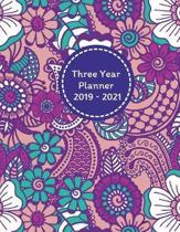Three Year Planner 2019 - 2021 Ora