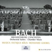 Musica Antiqua KÖLn, Reinhard Goebel - Bach: Brandenburg Concertos; Orchestral Suites; Chamber Music