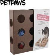 PetPaws - Hide & Seek Cat Toy Box