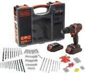 BLACK+DECKER BDCHD18BOA schroef- en klopboormachine