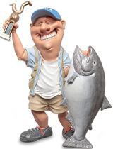 Beeldje - sport - visser - Warren - Stratford