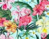 Vinyl Placemat | Flamingo | 6 stuks (1 gratis)