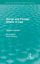 Social and Foreign Affairs in Iraq (Routledge Revivals)