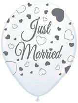 Just Married ballonnen 8st.