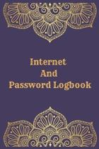 Internet And Password Logbook: Vol 10 Password Keeper Notebook Organizer Small Notebook For Passwords Journal Username and Password Notebooks Logbook