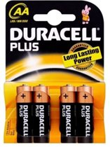 Duracell AA Plus Power Batterijen - 4