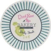 Dutch Rose Petit four Bakery - Blauw - Ø 12 cm - 2 stuks