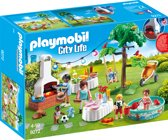 PLAYMOBIL Familiefeest met barbecue - 9272