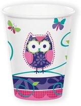 Bekertjes Owl Pal (266ml, 8st)