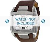 Horlogeband Diesel DZ1273 Leder Bruin 32mm