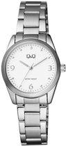 Q & Q - Q&Q horloge met stalen band
