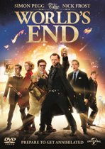 DVD cover van The Worlds End