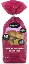 Body & Fit Food Smart Cookies - Suikerarm - 175 gram - Cacao nibs