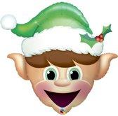 Folieballon Christmas Elf (Zonder Helium)