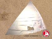 Ventoz Laser Standaard Zeil COMPLEET (7.1 m2) - Wit