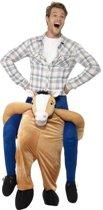Instap dierenpak kostuum paard voor volwassenen - paardenpak