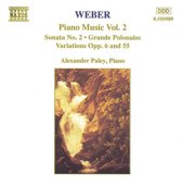 Weber: Piano Works Vol 2 / Alexander Paley