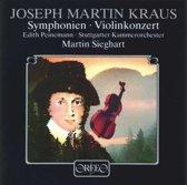 Kraus Violinkonzert, Symphonien