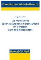 Die monistische Societas Europaea in Deutschland im Vergleich zum englischen Recht