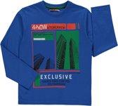Losan Jongens Shirt Blauw - g60 - Maat 128