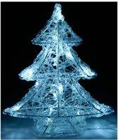 Kerstboom (25 cm) met Led-verlichting