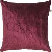 Dutch Decor Kussenhoes Cido 45x45 cm bordeaux