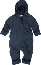 Playshoes Fleece Onesie capuchon Baby - Donkerblauw - Maat 74