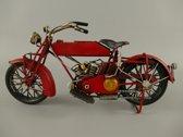 Blikken - motor - model - 1920 - motorfiets - vintage - blik