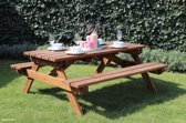 Picknicktafel Marbella 180 x 160 x 75 cm hardhout