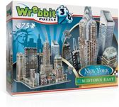 Wrebbit 3D Puzzel - New York Midtown East - 875 stukjes