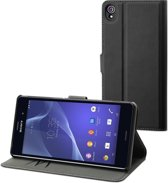 Muvit wallet case - black - for Sony Xperia Z3