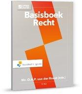 Boek cover Basisboek Recht  incl. toegang tot Prepzone van O.A.P. van der Roest (Paperback)